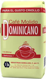 Dominican ground coffee